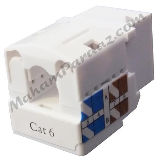 کیستون شبکه نت پلاس cat6 utp