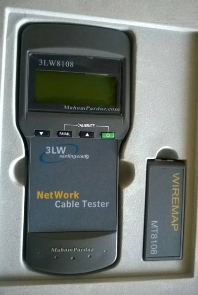 تستر شبکه دیجیتال مدل 3lw8108